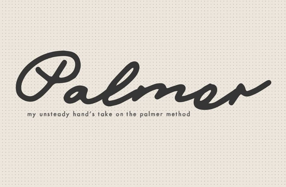 mix palmer font - Mix Palmer Script Font Free Download