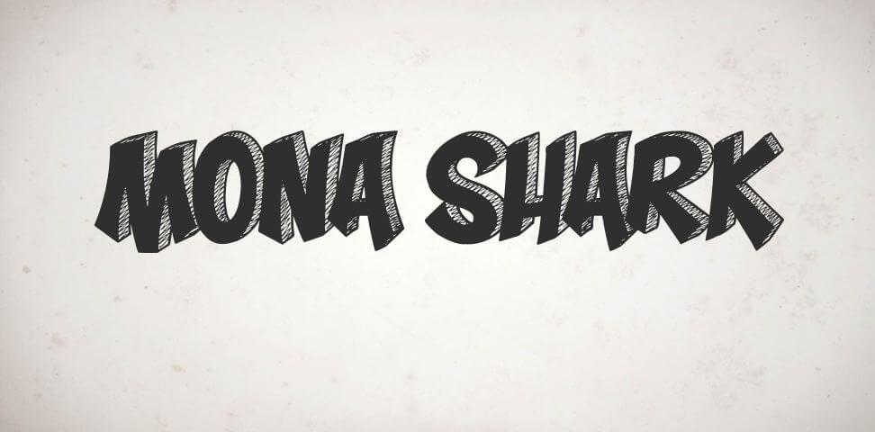 mona shark font - Mona Shark Font Free Download