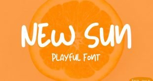 new sun fpnt 310x165 - New Sun Playful Font Free Download