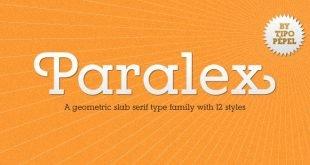 paralex font 310x165 - Paralex Font Free Download