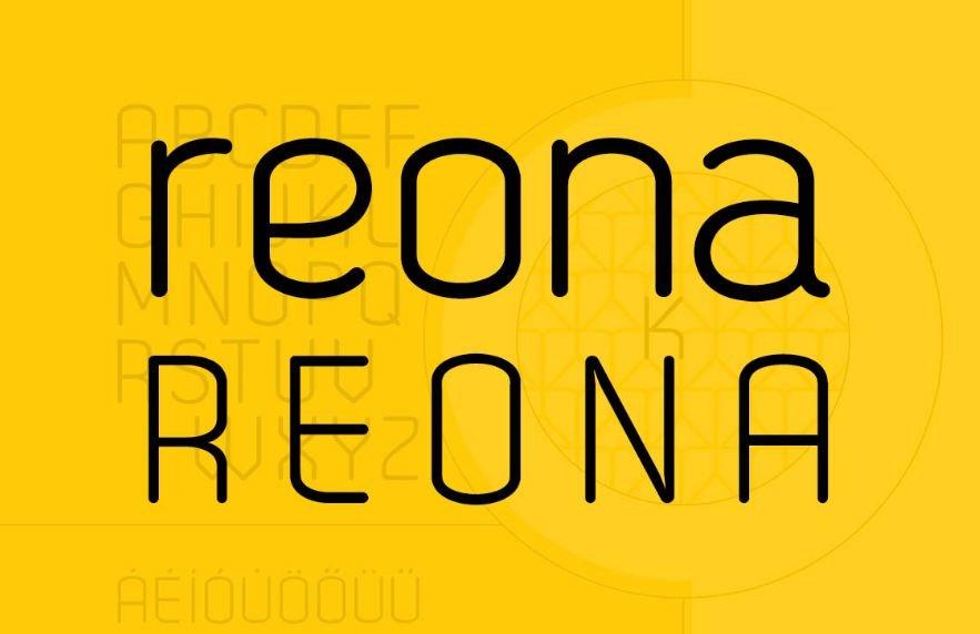 reona font - Reona Font Free Download