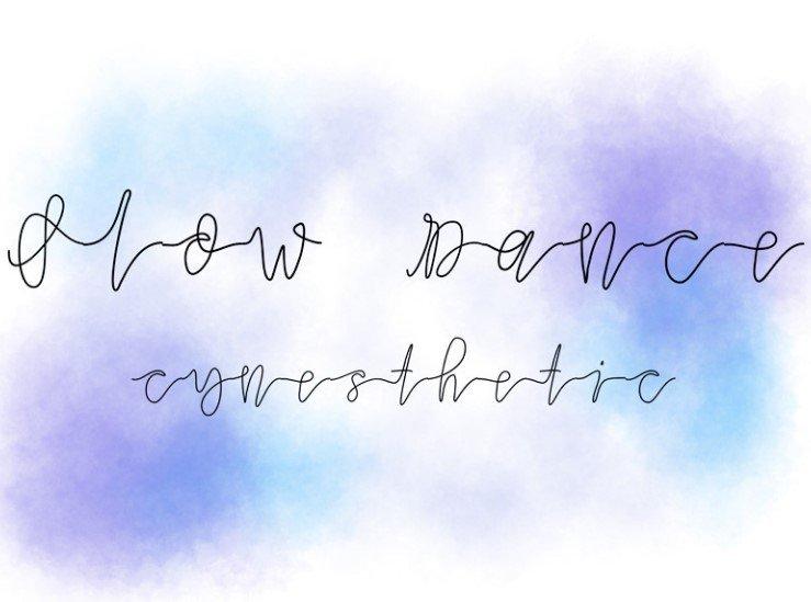 slow dance font - Slow Dance Font Free Download