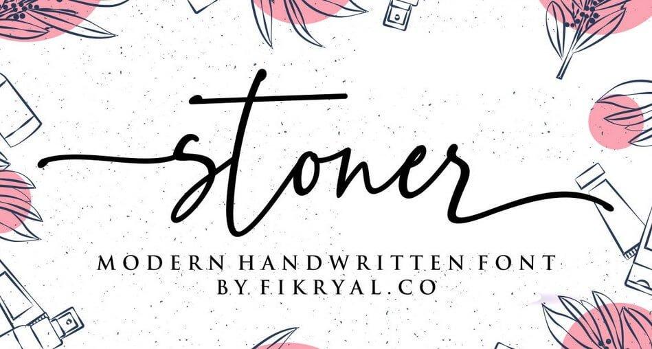 stoner script font - Stoner Script Font Free Download