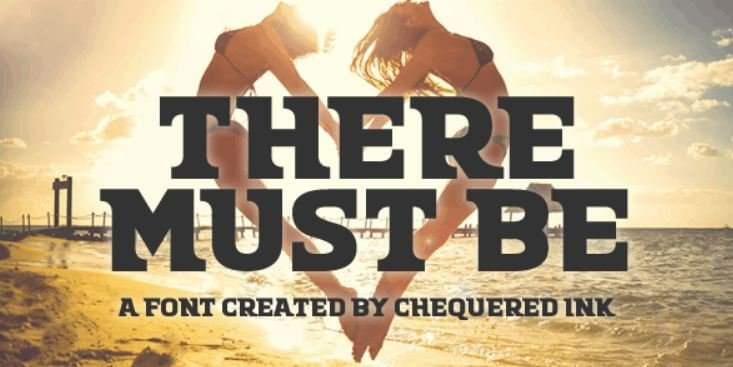 there must be font - There Must Be Font Free Download