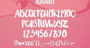 water font 310x165 - Water Font Free Download