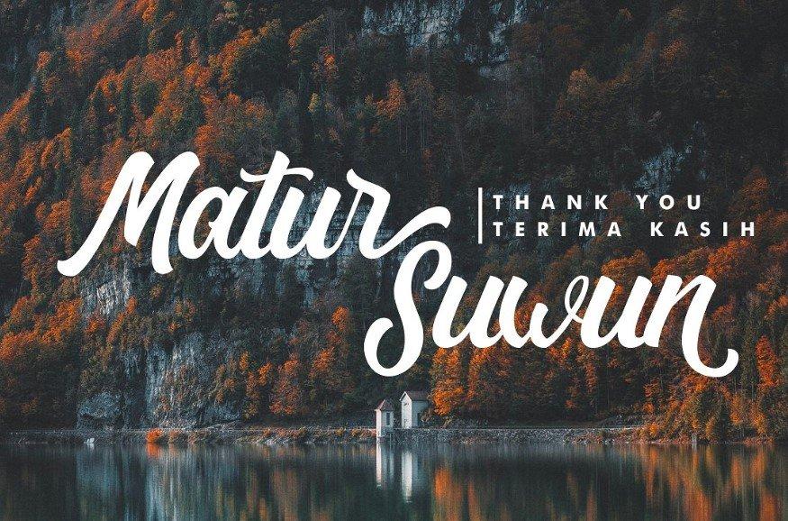 Matane font - Matane Script Font Free Download