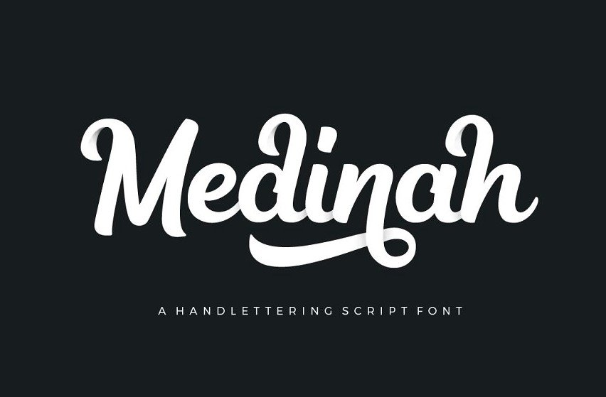 medinah script - Medinah Script Font Free Download