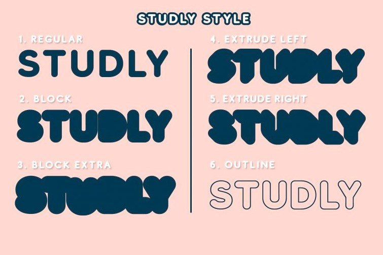 studly font - Studly Font Free Download