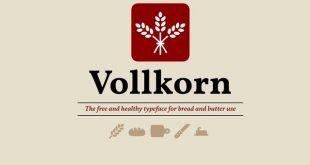 volkron 310x165 - Vollkorn Font Free Download