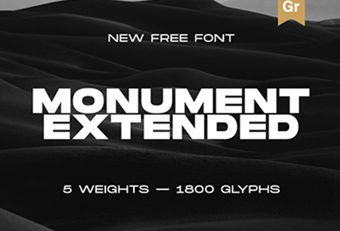 Monument - Monument Extended Font Free Download