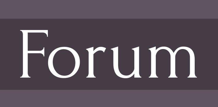forum font - Forum Font Free Download