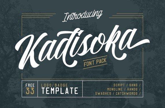 kadisoka - Kadisoka Script Font Free Download