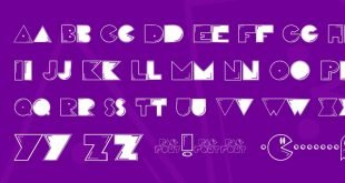 pac font 310x165 - Pac Font Free Download