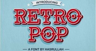 retro pop font 310x165 - Retro Pop Font Free Download