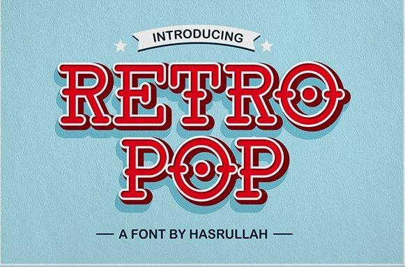 retro pop font - Retro Pop Font Free Download