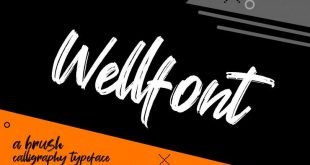 wellfont 310x165 - Wellfont Brush Font Free Download