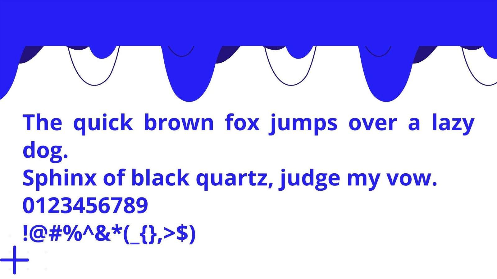 Open Sans Font View