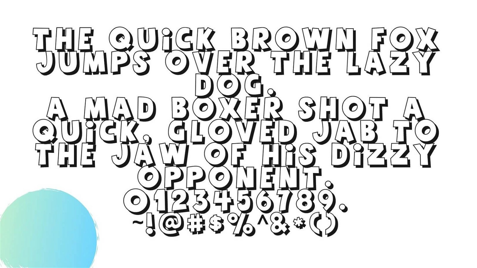 Toy Story Font View