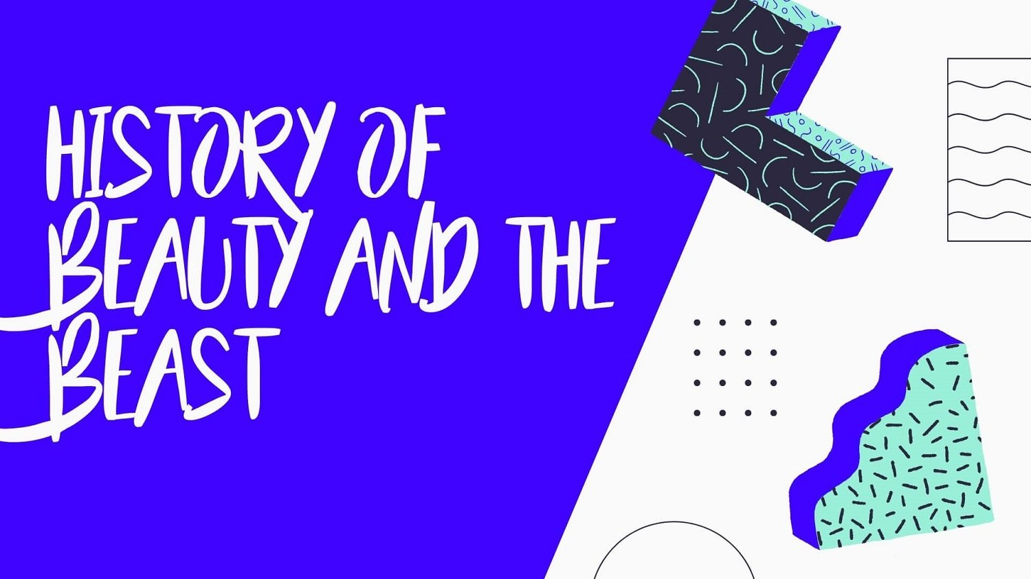 History of Beauty and the Beast Font