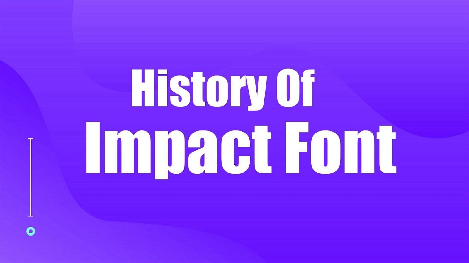 History of Impact Font