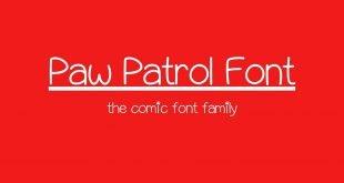 Paw Patrol Font 310x165 - Paw Patrol Font Family Free Download