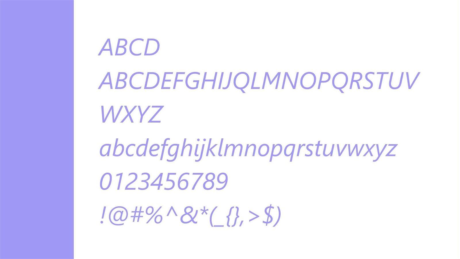 Segeo UI Font View