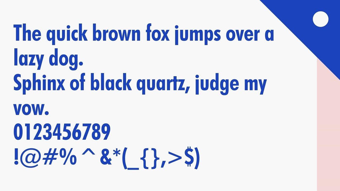 Supreme Font View