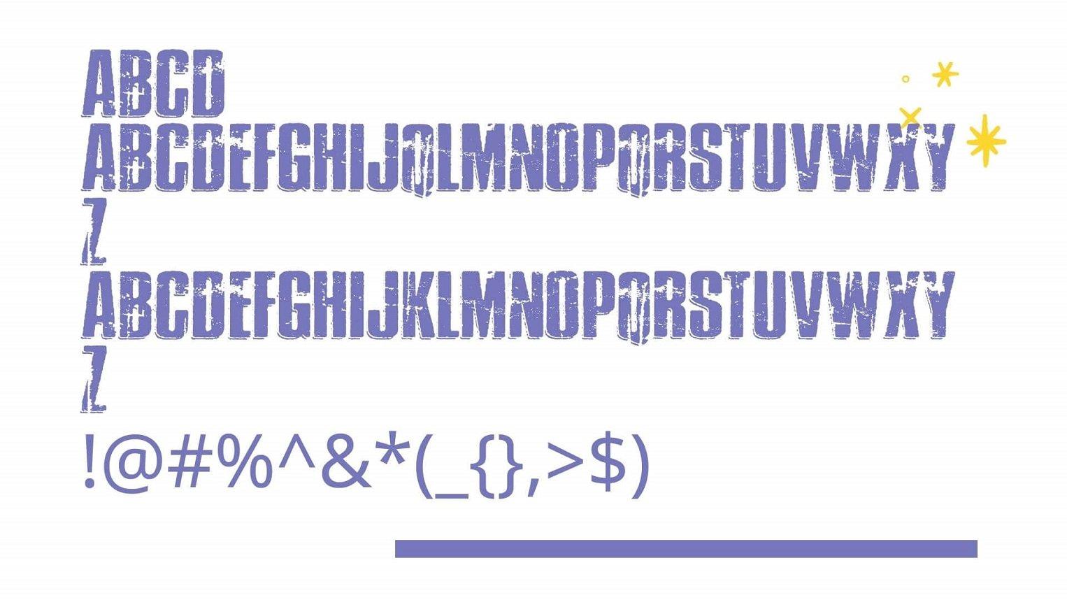 Thrasher Font View