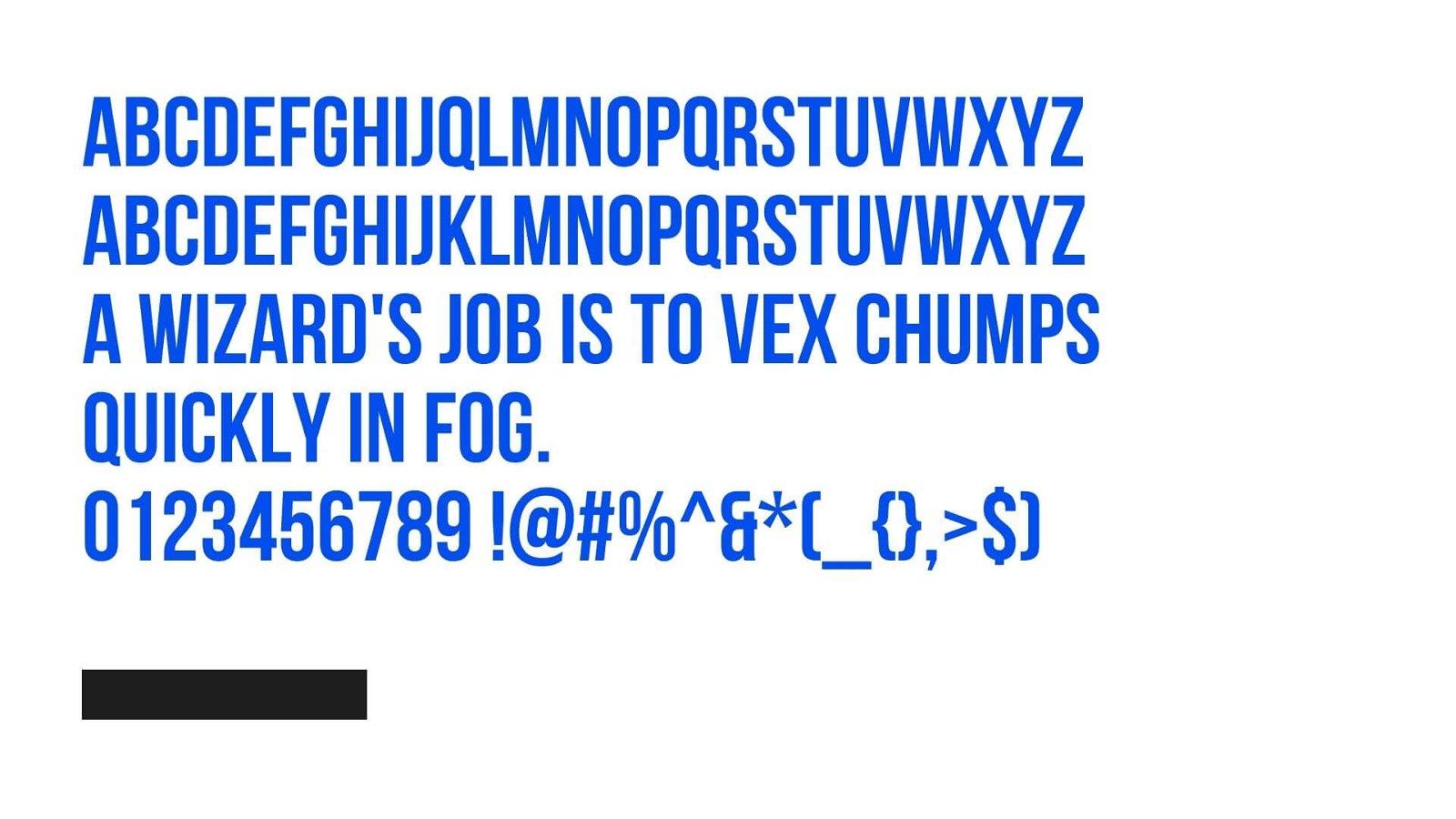 Vogue Font View