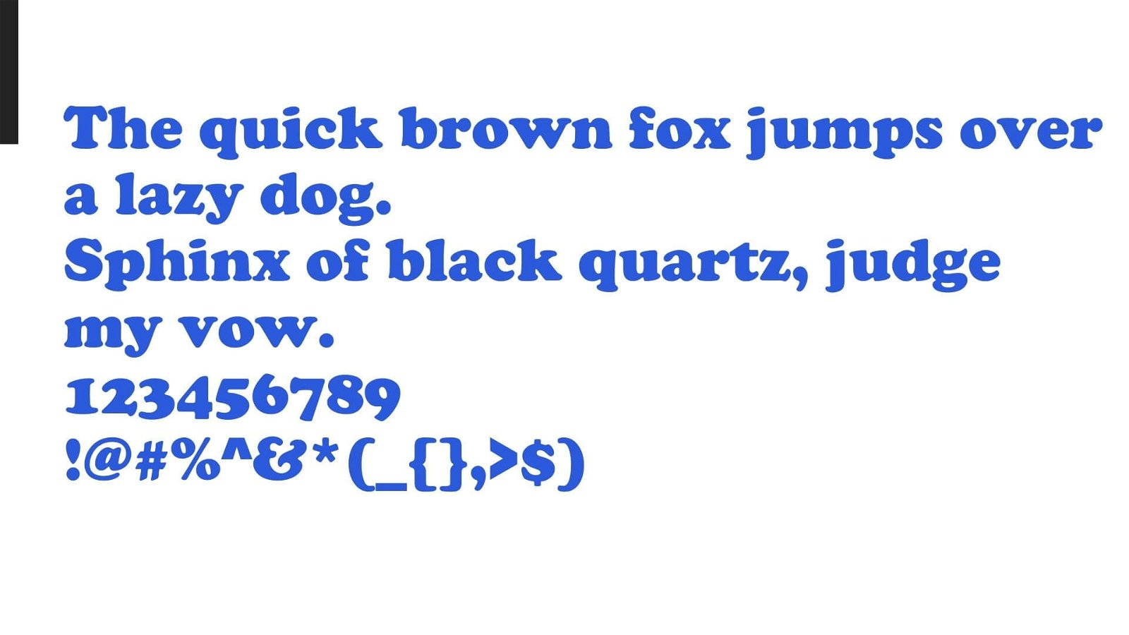 Cooper Black Font View
