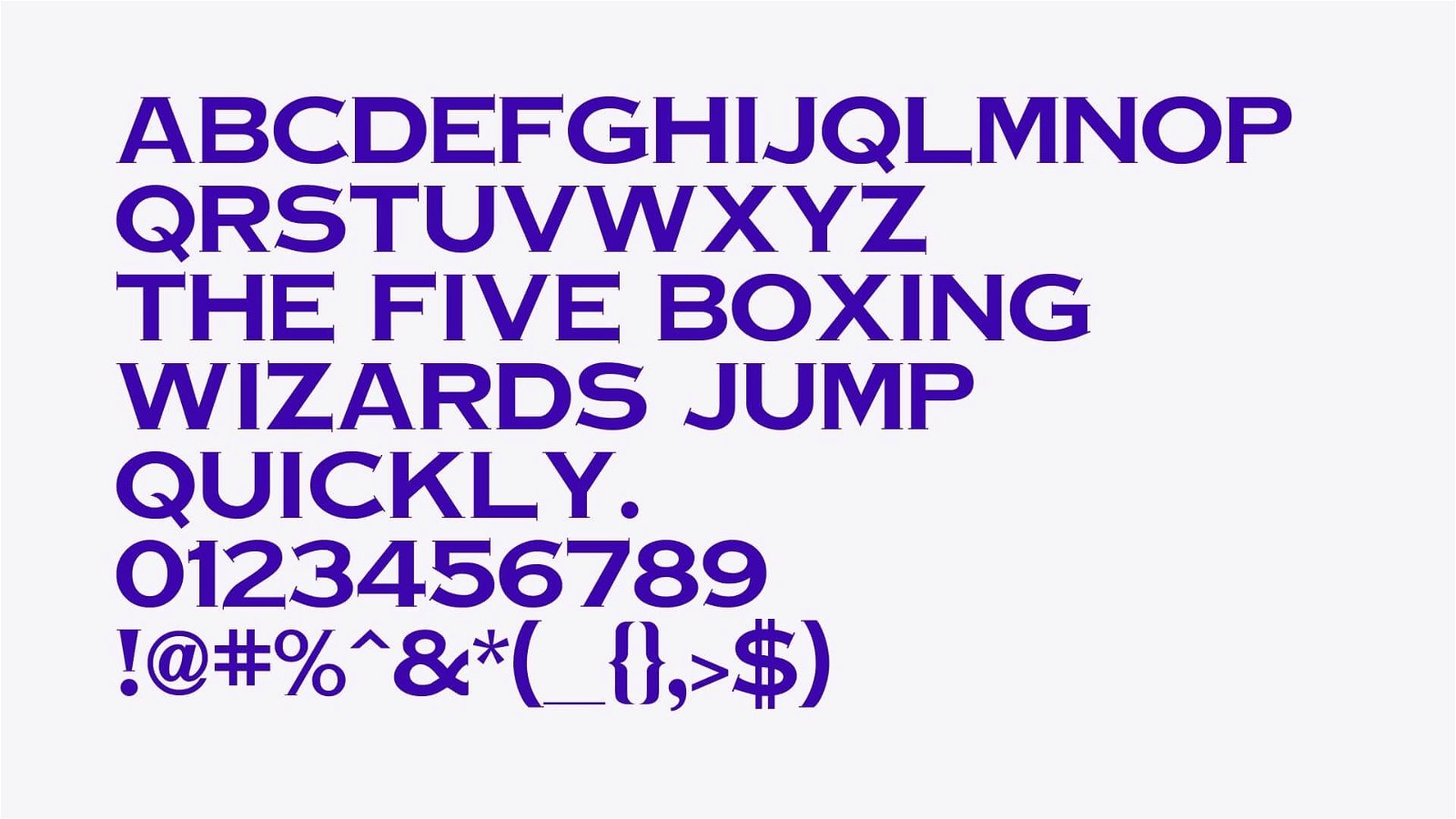 Copperplate Font View