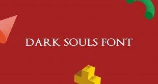 Dark Souls Font