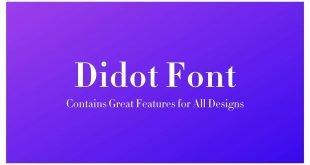 Didot Font 310x165 - Didot Font Free Download