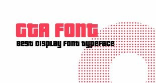 GTA Font 310x165 - Gta Font Free Download