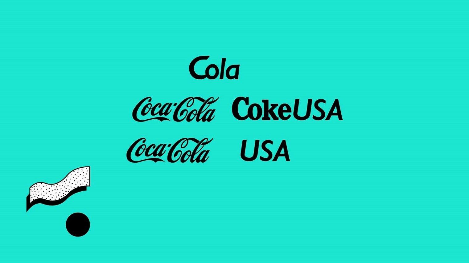 History of Coca Font