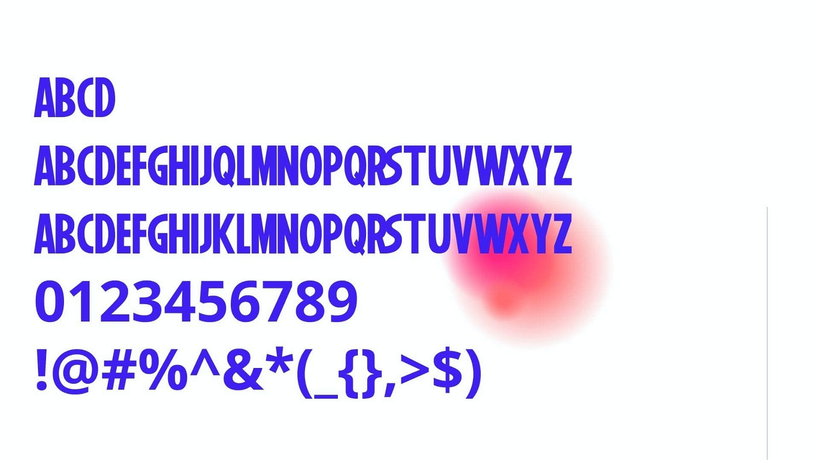 Marvel Font View