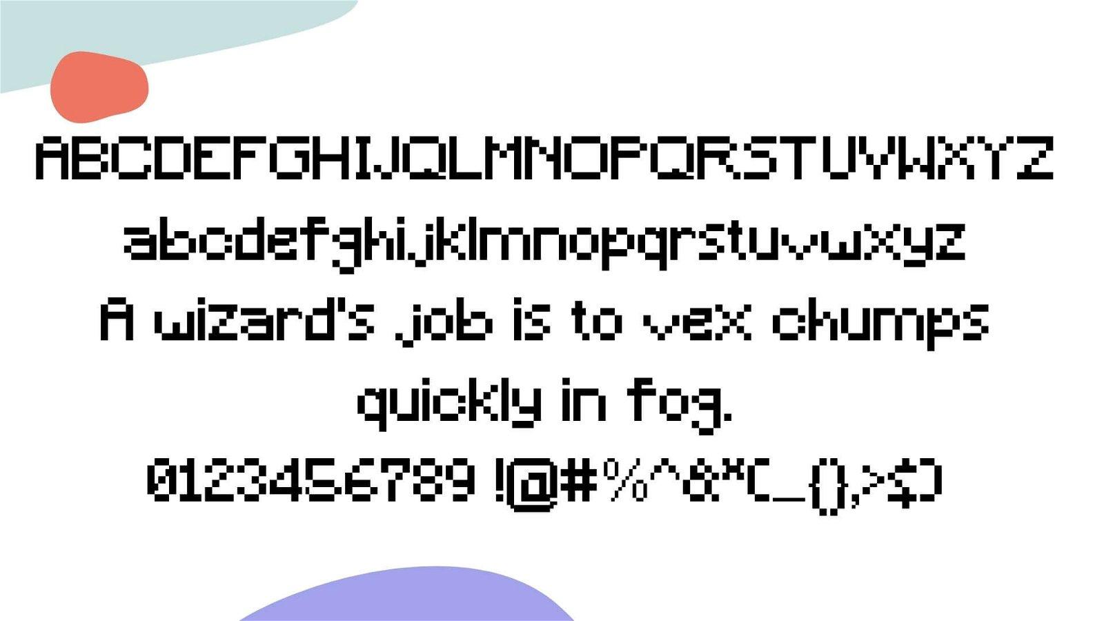 Minecraft Font View