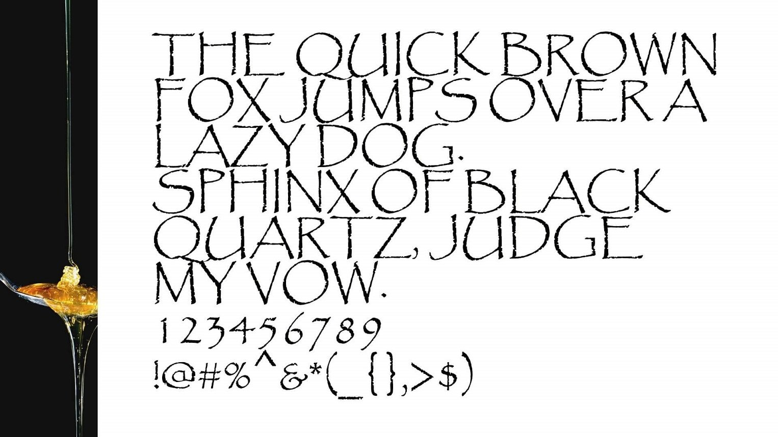 Papyrus Font View