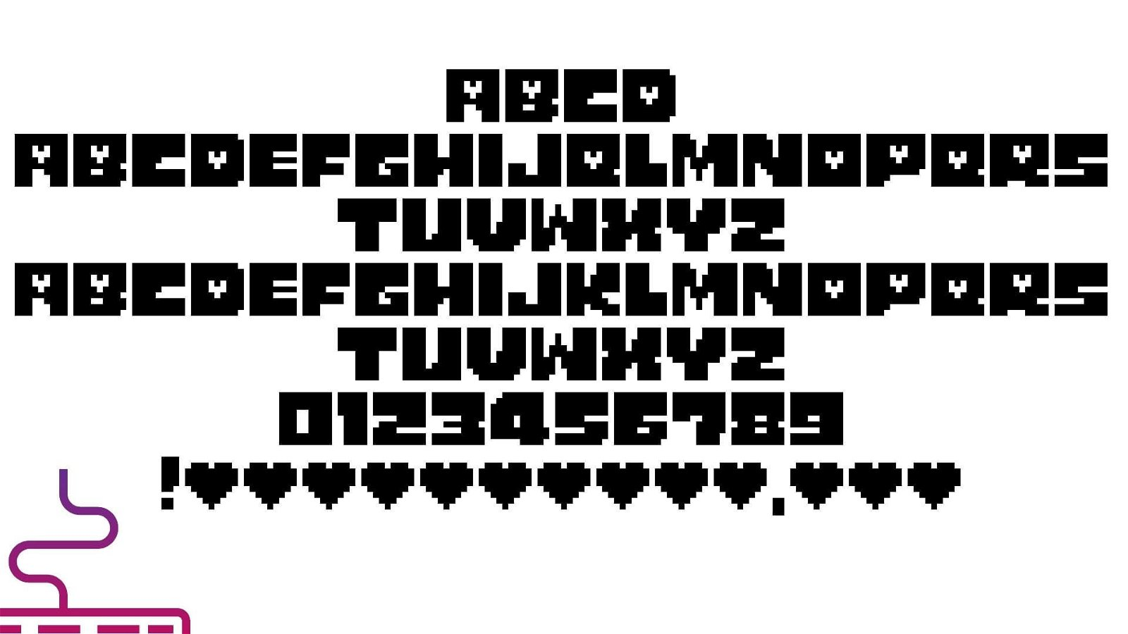 Undertale Logo Font View