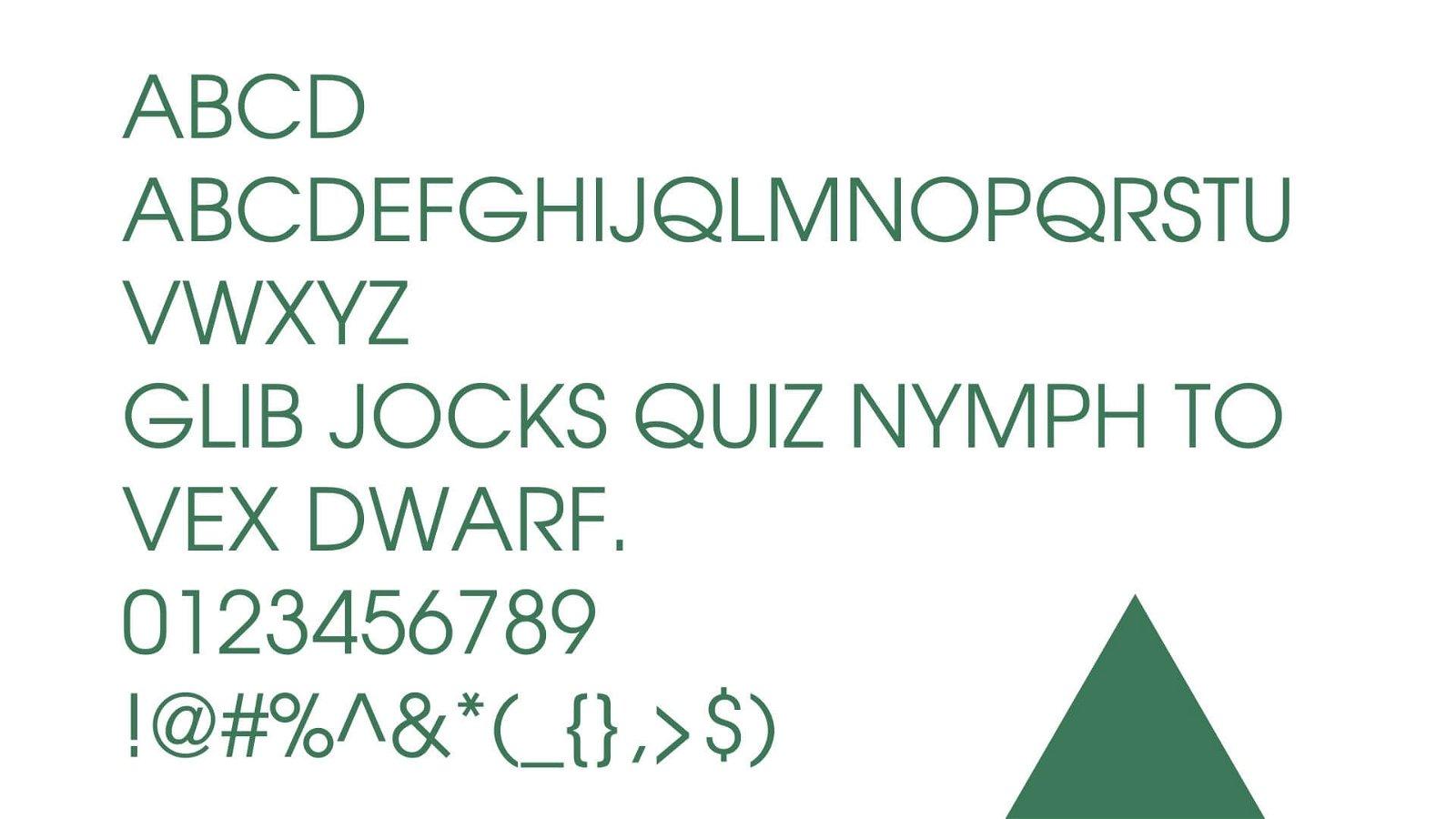 Adidas Font View
