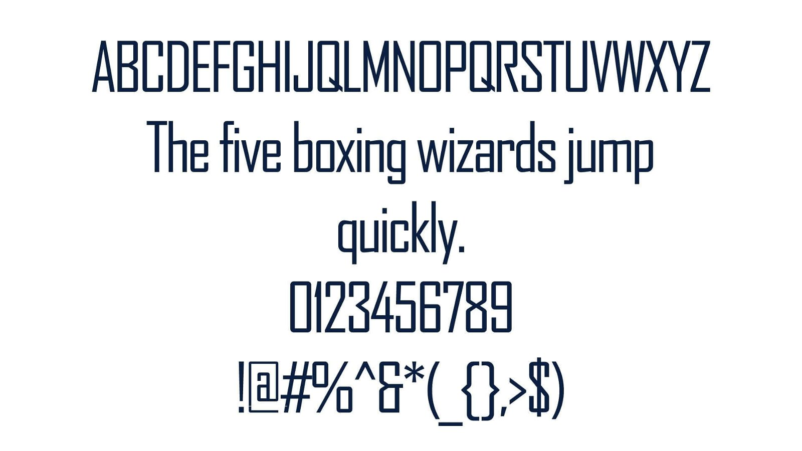 Agency FB Font View - Agency FB Font Free Download