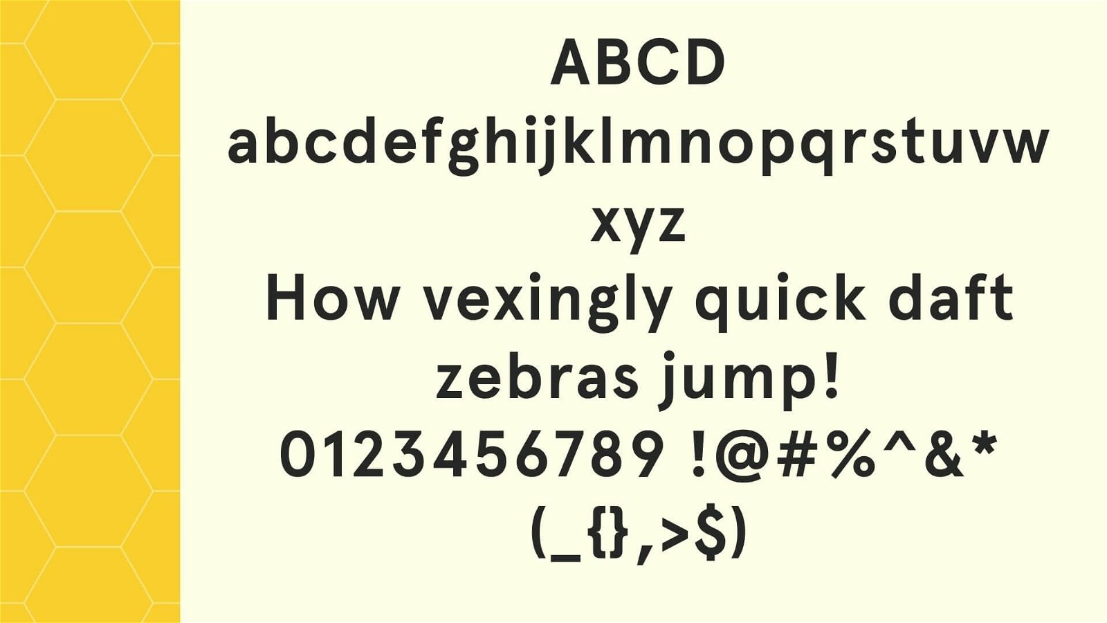 Apercu Font View