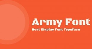 Army Font