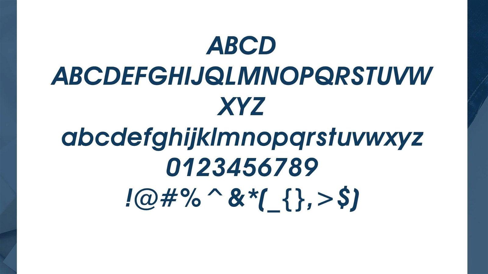 Avant Garde Font View