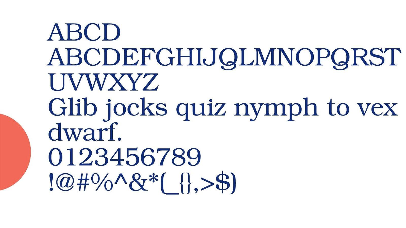 Bookman Font View - Bookman Font Family Free Download