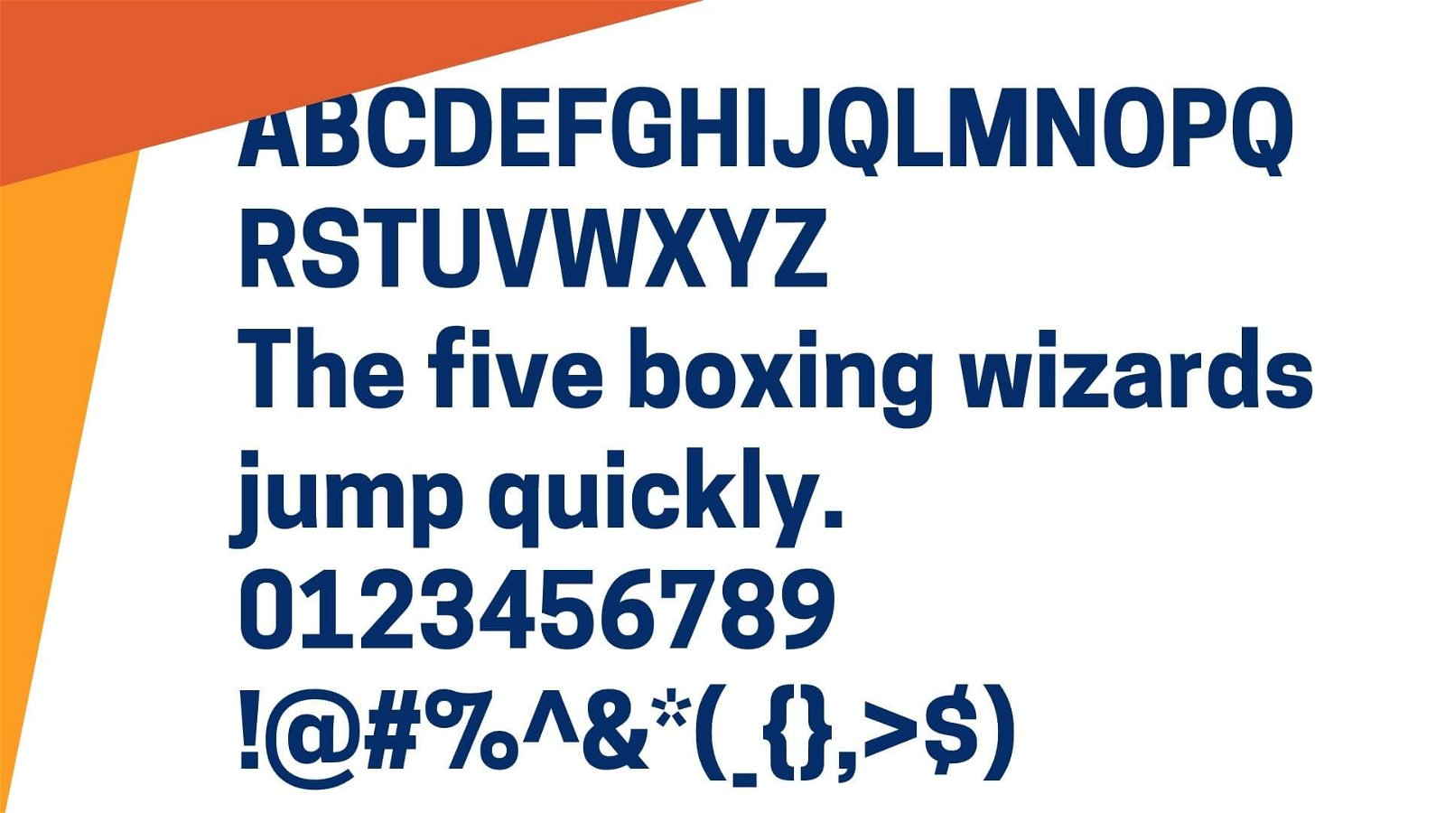 Cooper Font View