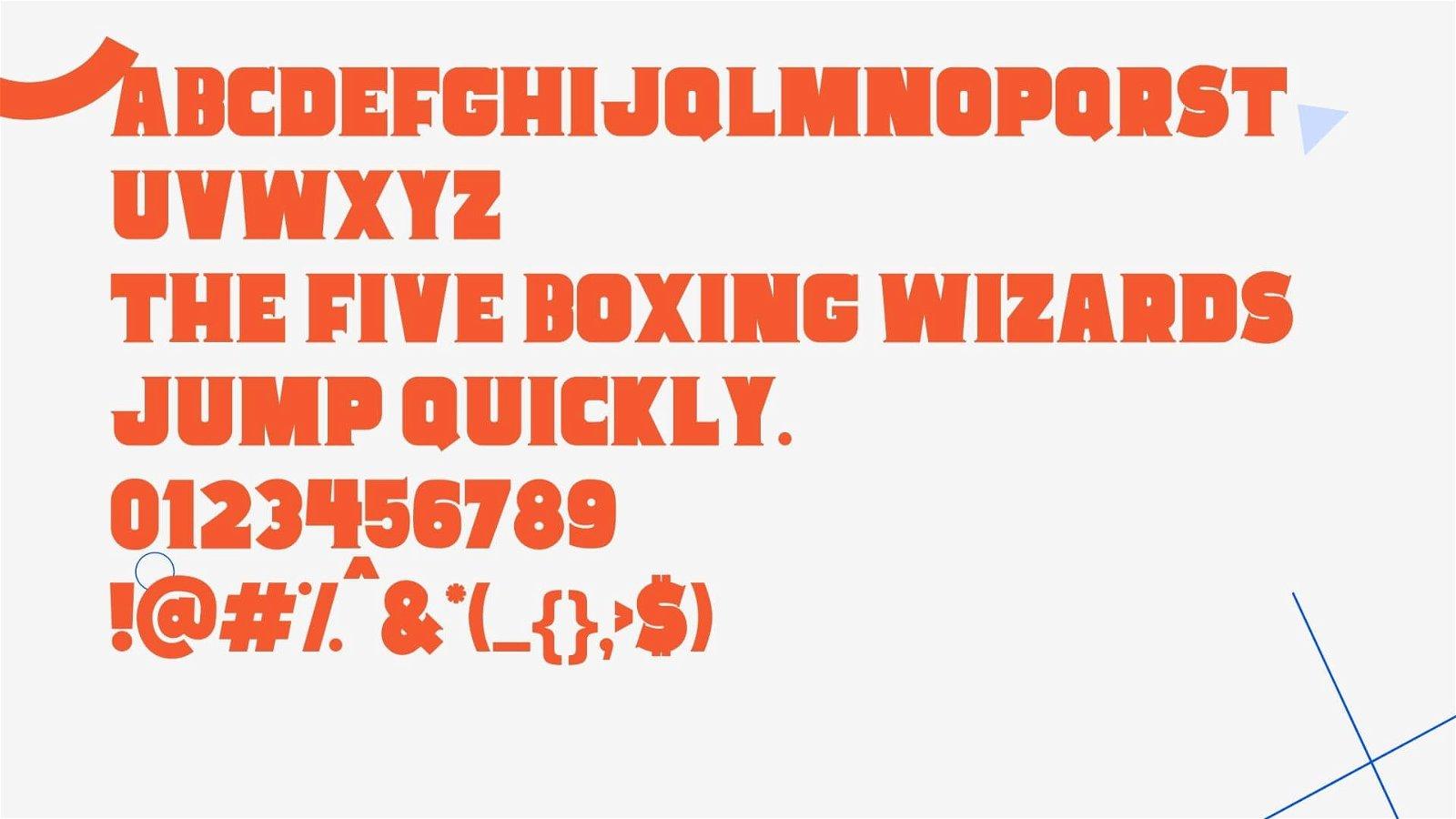 Cowboy Font View
