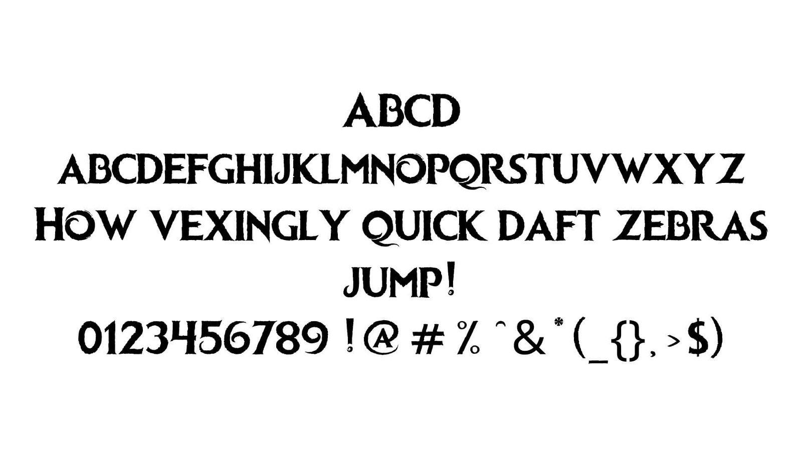 Frozen Font View