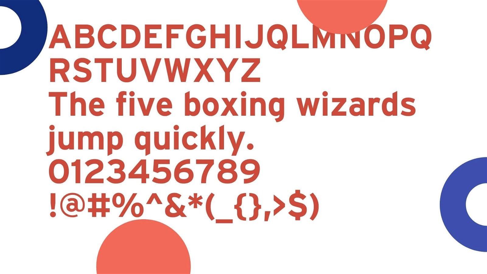Interstate Font View - Interstate Font Free Download