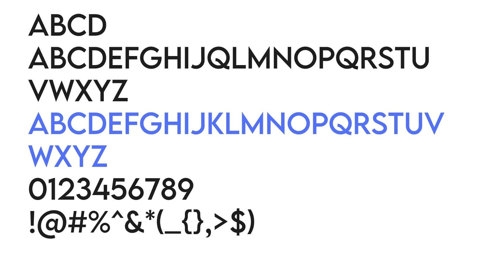 Lemon Milk Font View - Lemon Milk Font Free Download